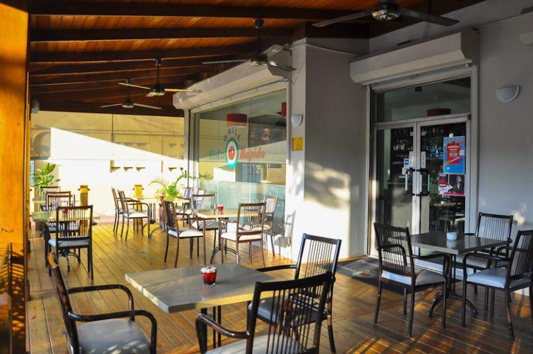 fotos restaurante y platos punto italia en santo domingo por greg dotel