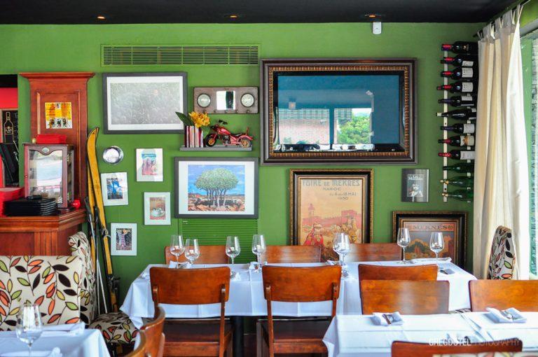 fotos de interiores restaurante olivia por greg dotel photography