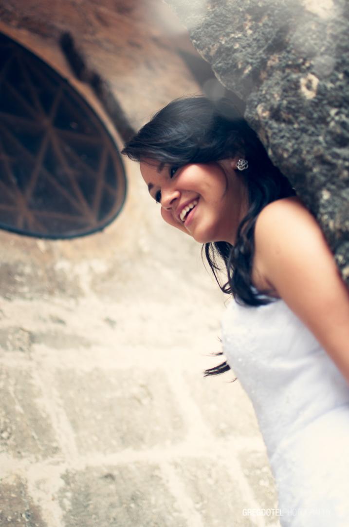 fotografias de quinceañera a Cesarina en la Zona Colonial de Santo Domingo