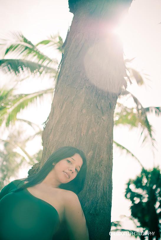 Sesion de fotos a Indhira en el Acuario Nacional por el fotografo Greg Dotel