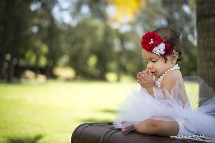 Sesión de fotos de Bebé a Laiah