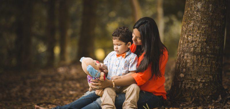 Sesión de Giselle y su bebé Noah