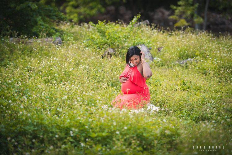 Sesión de Embarazada a Yamilka en el Jardín Botánico