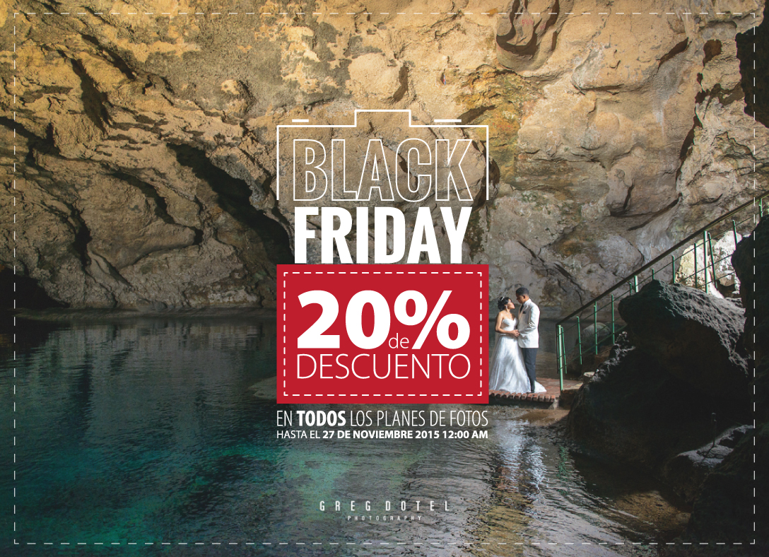 Black friday de sesiones de fotos en santo domingo por greg dotel photography