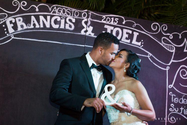 Boda de Francis y Joel - Santo Domingo
