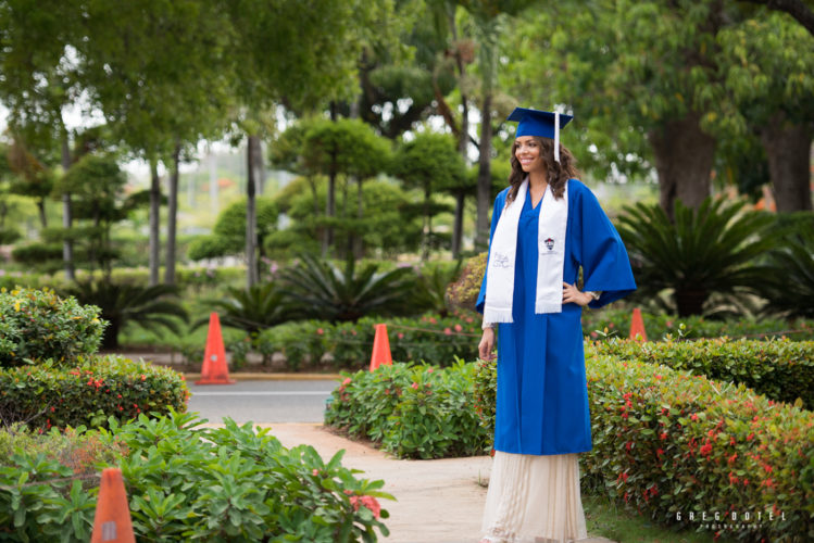 Graduación de Bachiller Amy Meran, Santo Domingo