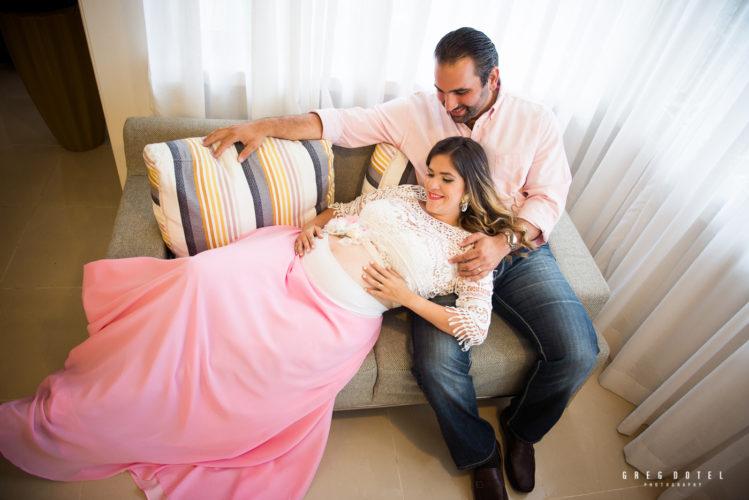 Sesión de fotos Embarazo de Karen, Santo Domingo