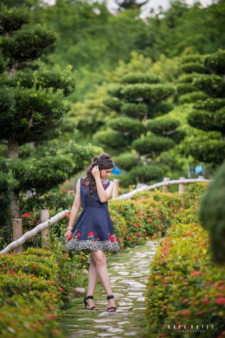 fotografo quinceañeras en el jardin botanico en santo domingo, republica dominicana