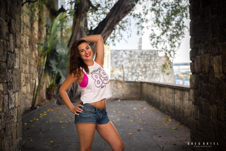Sesiones de fotos personales y retratos en la Zona Colonial de Santo Domingo, República Dominicana