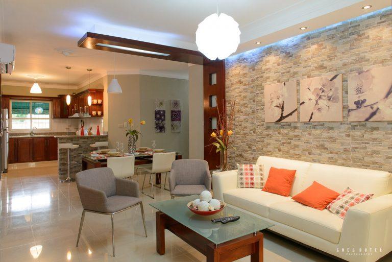 Fotografía de interiores del proyecto residencial Mimi II en santo Domingo, República Dominicana