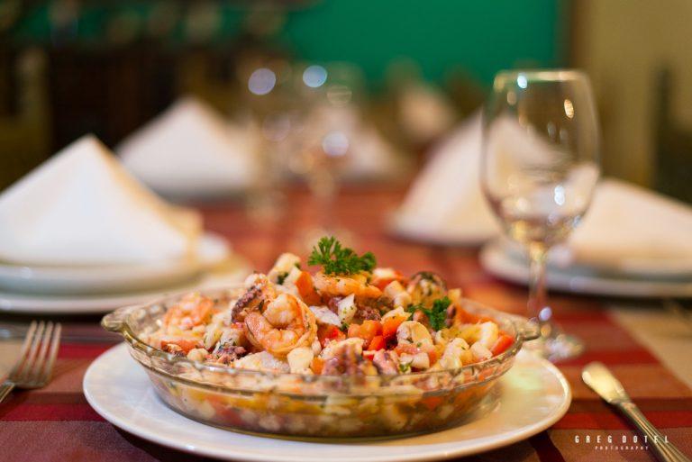Fotografo en República Dominicana de platos y comida para el restaurante cien fuegos