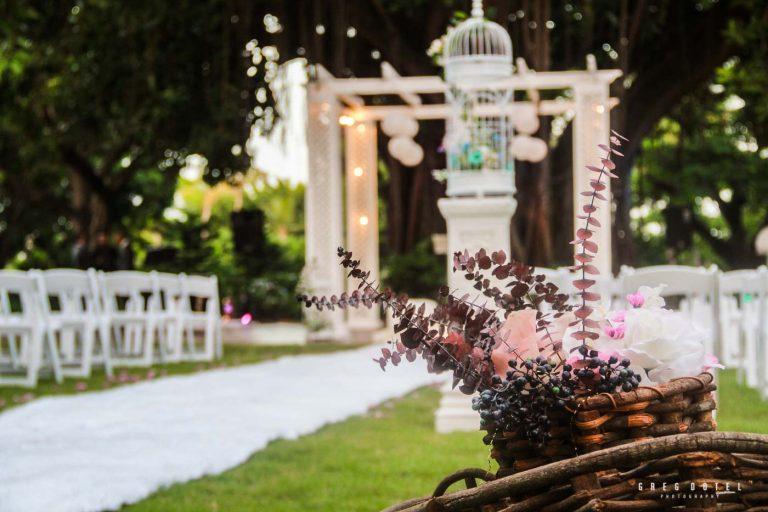 Fotografo profesional de bodas en Republica Dominicana con fotos de decoracion de bodas
