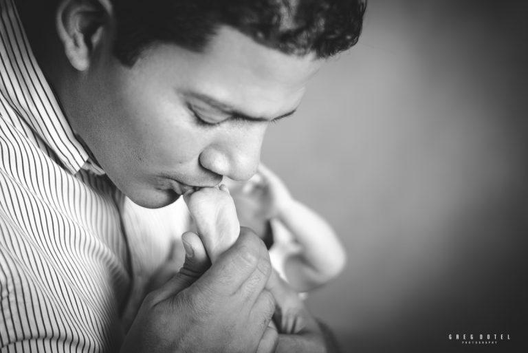 Sesión de fotos de la bebé Camila en su primer mes de recien nacida en Santo Domingo, República Dominicana