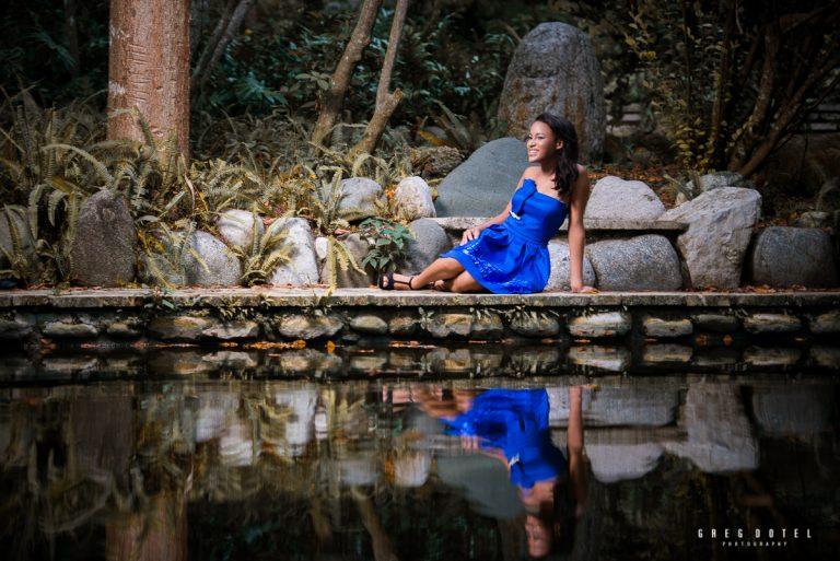 Sesión de quince años de Mari en el Jardín Botánico de Santo Domingo, República Dominicana