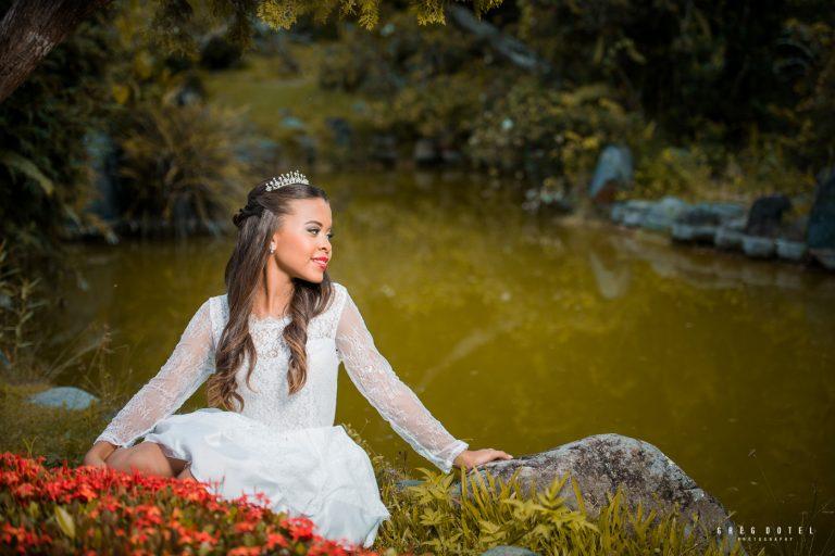 Sesión de fotos de Quinceañera en el Jardín Botánico Nacional de Santo Domingo República Dominicana