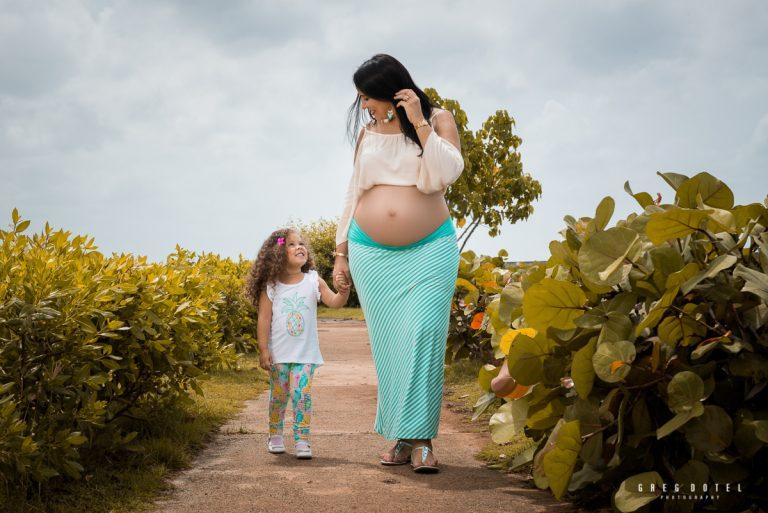 Sesion de fotos de embarazo de paola en el Acuario Nacional de Santo Domingo, República Dominicana