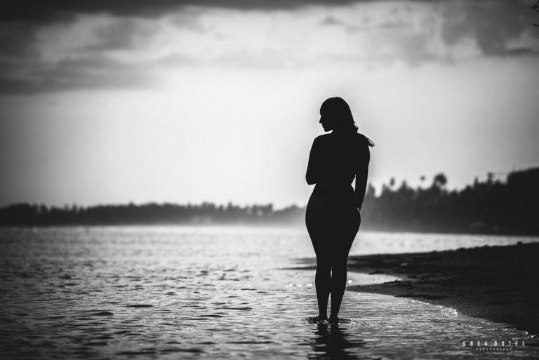 Fotos de la hermosa embarazada Arianna en las playas de Juan Dolio Republica Dominicana
