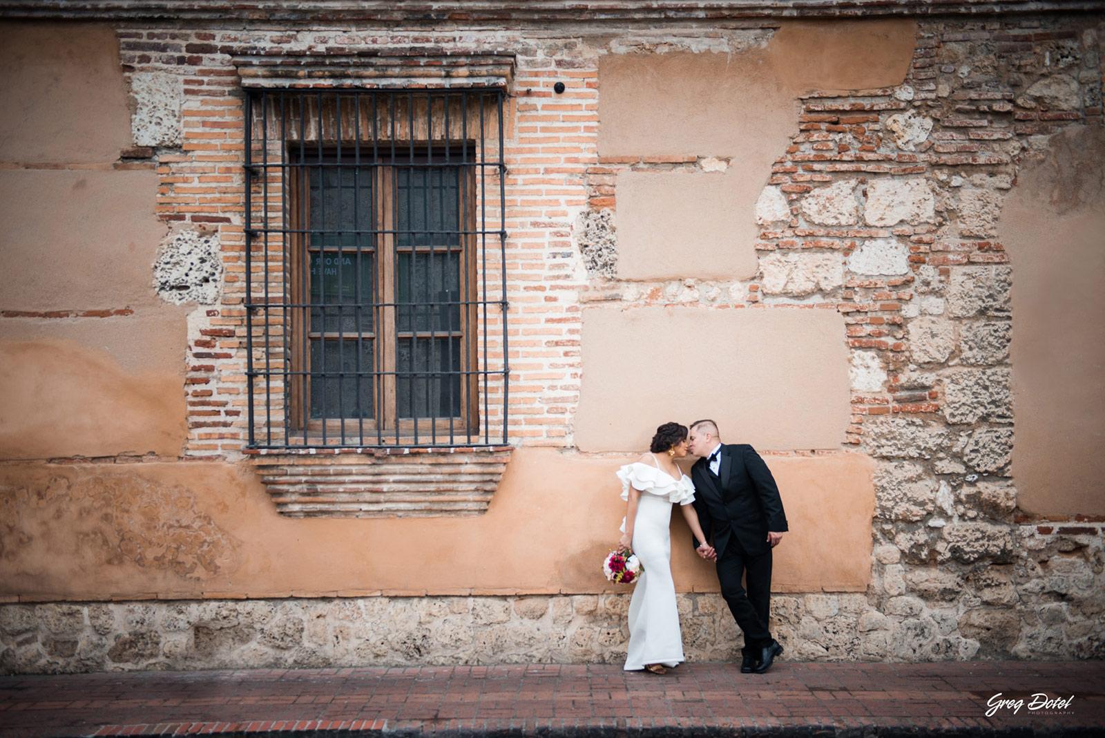 Sesion de fotos en Calle Las Damas, Zona Colonial de Santo Domingo, República Dominicana