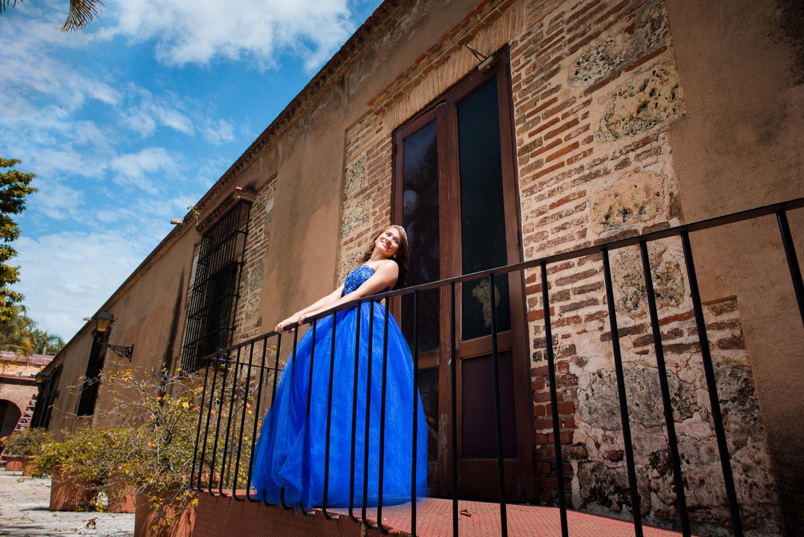 Sesion de fotos en la Casa de Bastidas, Zona Colonial de Santo Domingo, República Dominicana