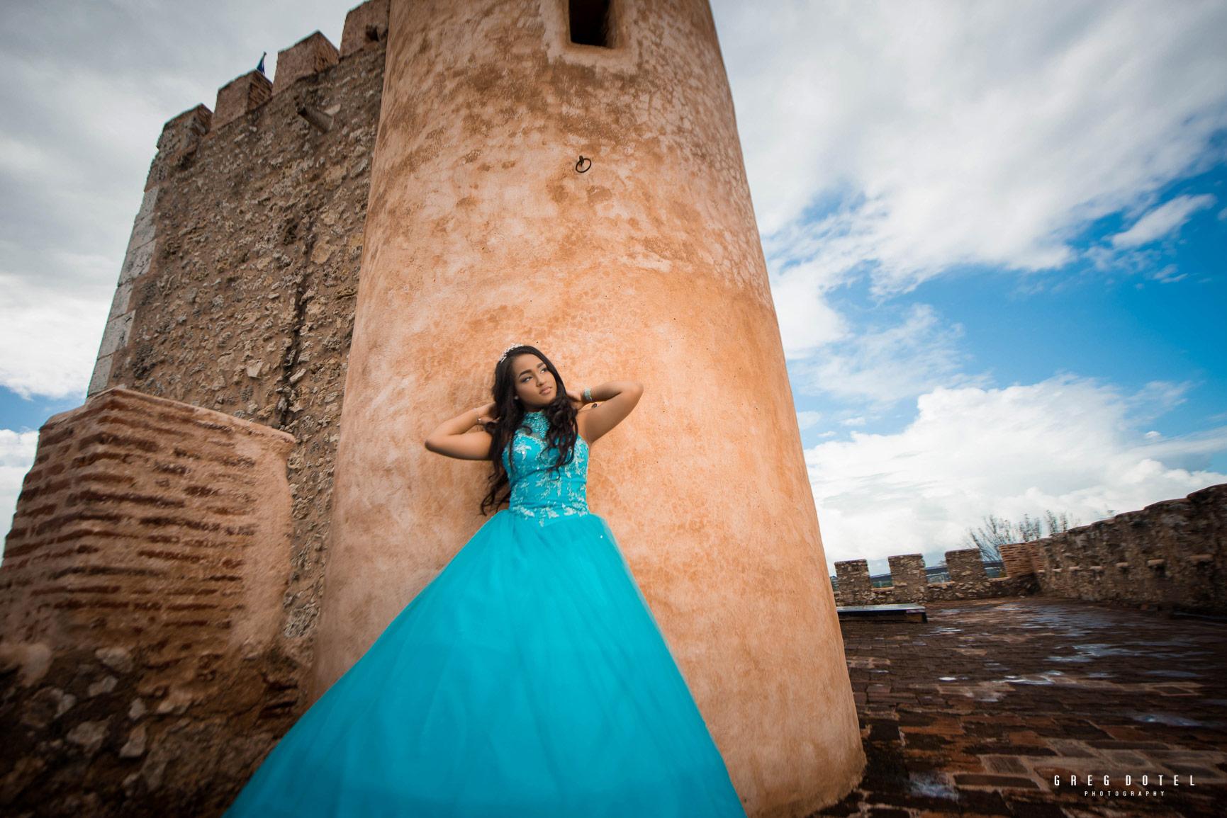 Sesion de fotos en la Fortaleza Ozama de Santo Domingo, República Dominicana