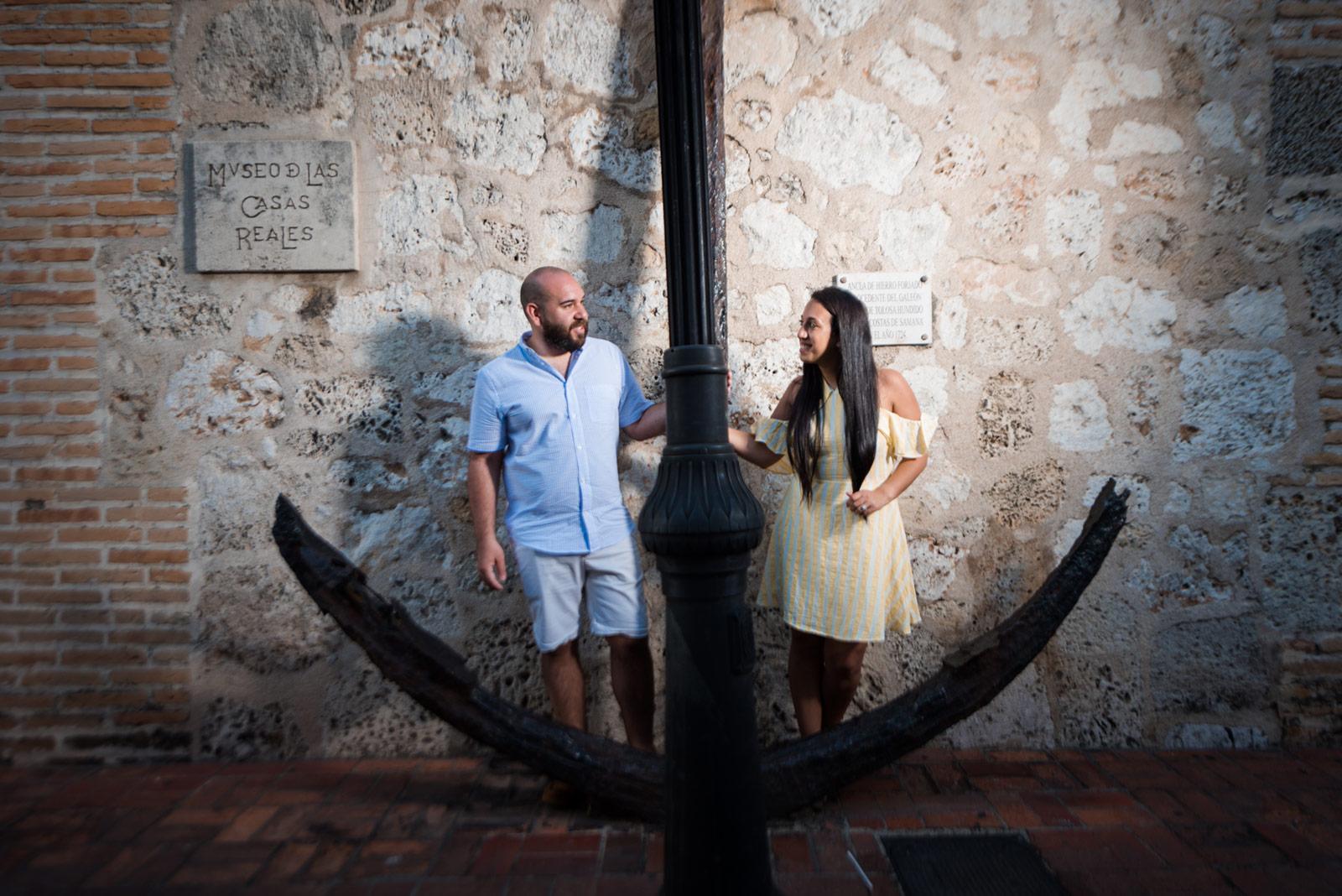 Sesion de fotos en Museo de las Casas Reales, Zona Colonial de Santo Domingo, República Dominicana
