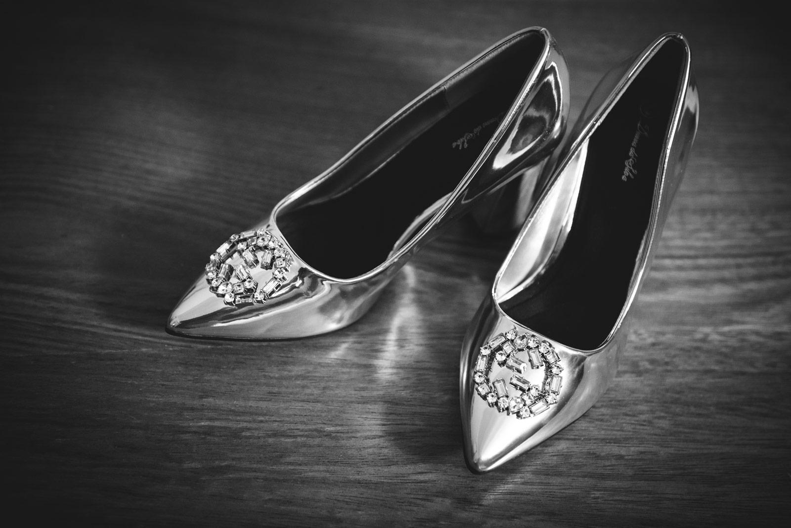 Foto de zapatos de novia para boda en Santo Domingo Republica Dominicana