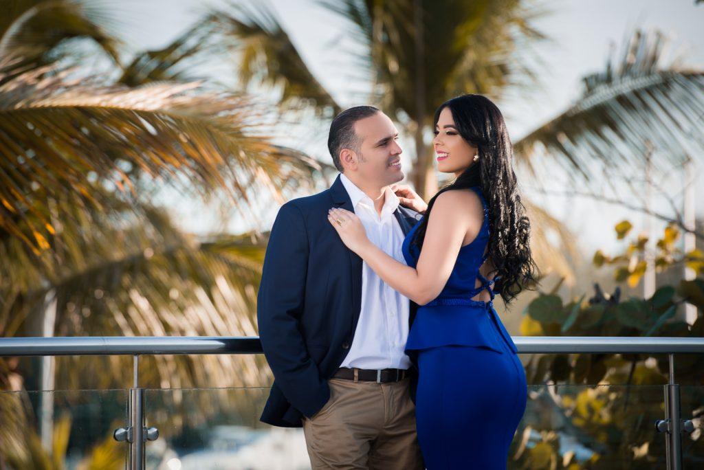 Hermosa Sesión de novios o pre boda de Alejandra y Luis en el Club Náutico de Santo Domingo, República Dominicana