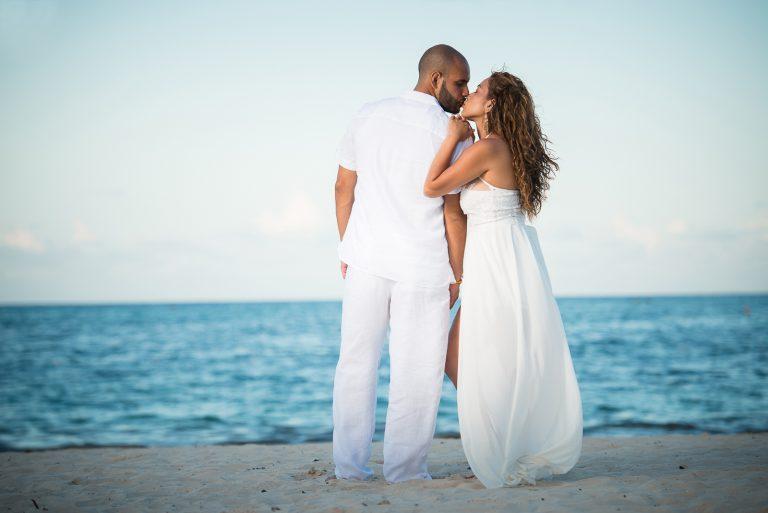 Sesion de novios o pre boda de Estela y Angel en el Hotel Paradisus Punta Cana, Republica Dominicana